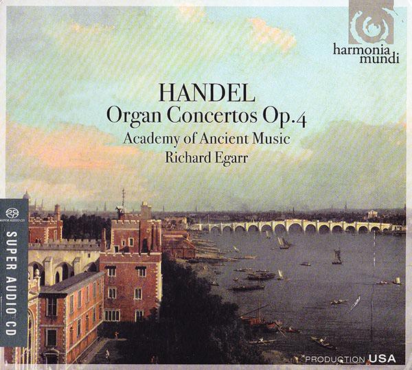G.F. Händel - Organ Concertos, Op. 4