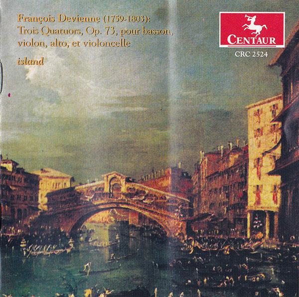 François Devienne (1759-1803) - Trois Quatuors, Op. 73